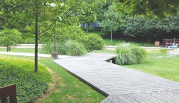 吉安职业技术学院园林绿化工程