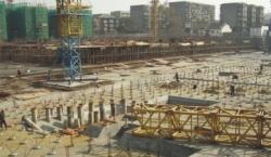 基础施工现场